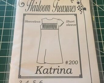 Maja's Heirloom Treasures Katrina Sewing Pattern
