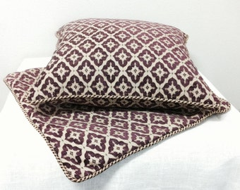 Custom Made Decorative Pillow Covers