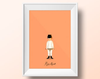 Malcolm Mc Dowell - A Clockwork Orange Poster