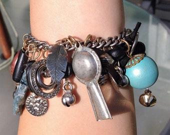 BOHO Gypsy Charm Bracelet