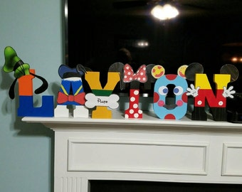 Mickey Mouse Letters (price is per letter)
