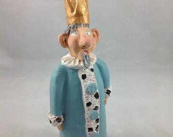 Ceramic figurine - King Eckardt