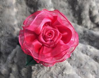 SALE!!!Pink Flower Headband