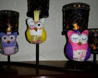 Summery Owl Set
