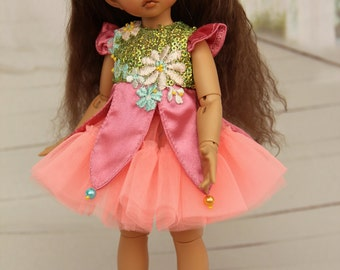 Elf dress for BJD LittleFee Fairyland
