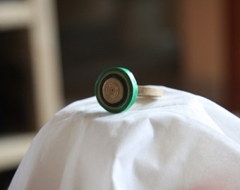 Paper Quilled Ring