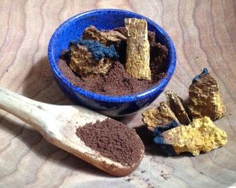 Wild harvested Chaga coffee