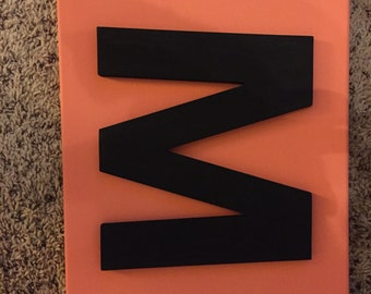 Letter Canvas (11x14) Made to order!