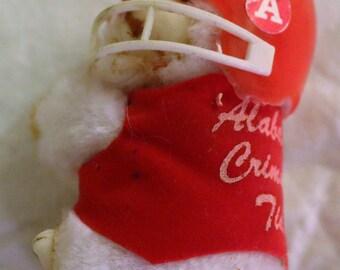 Vintage Alabama Crimson Tide Clip-On Bear