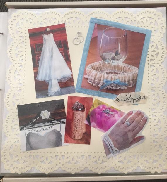 Hallmark Wedding Album: Wedding Scrapbook, Personalized And Handmade, Customized