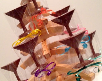 12 Chocolate Martini Glass Lollipops Girls Weekend Bridal Shower Wedding Party Favor Birthday Party Girl New Years Favor