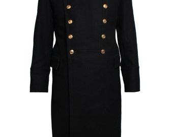 Soviet Russian Naval Officer's overcoat Navy Fleet coat