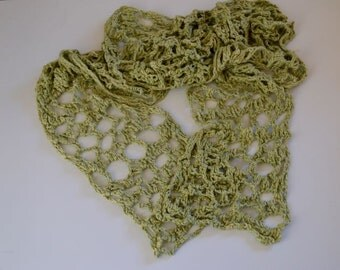 Green Light and Airy Scarf