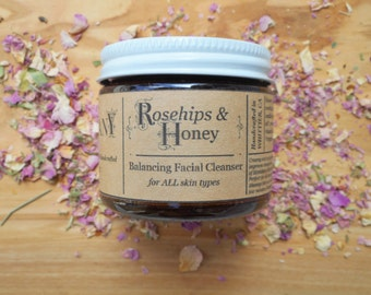 Rosehip&Honey/facial cleanser/2oz