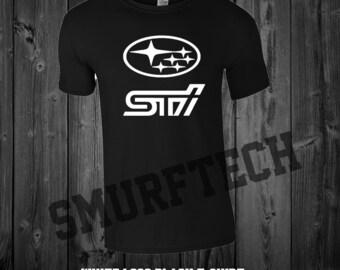 SUBARU STI Adult Crewneck T-Shirt