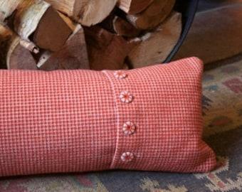 Handmade needlepoint cushion
