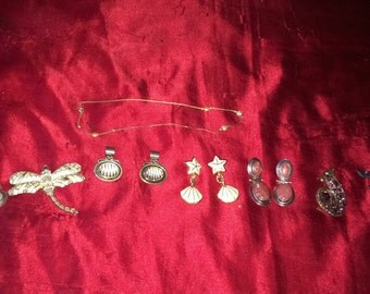 Mixed vintage jewelry lot