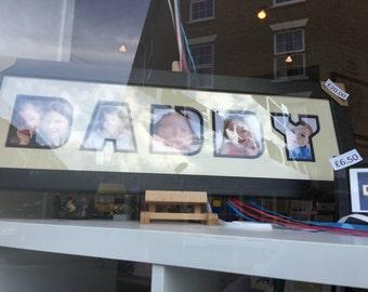 Daddy photo frame