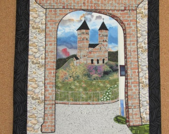 Murbach Abbey quilted wallhanging