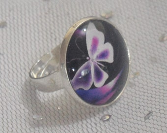 Ring with Butterfly