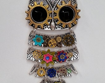 Articulated Steampunk Owl