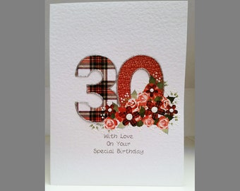 Special Wishes Large Birthday Special Age 30 Card SW BI17