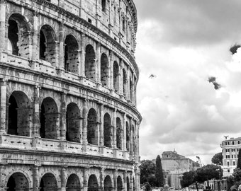 Digital Download of photo of the Colosseum, Rome. Fine Art Photography, Wall Art, Travel Photography, Digital Download.