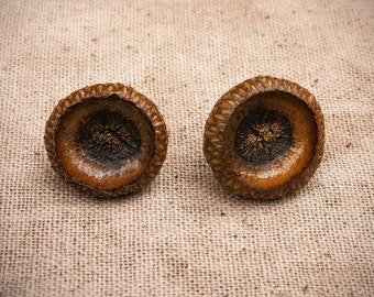 Acorn Top Earrings