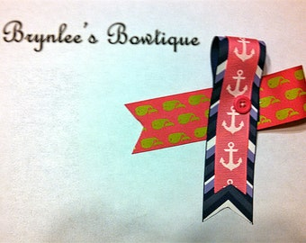 Brynlee's Bowtique Mismatch Bow