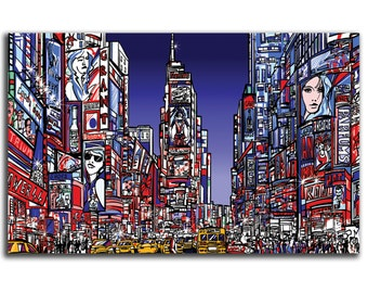 Times Square, NYC Art Canvas