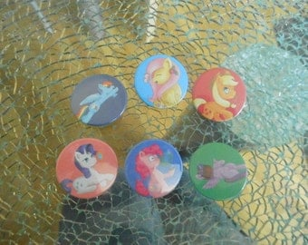 Button Pack MLP Main6 my little pony #002