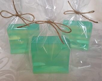 Hand made soaps LIME &LEMON
