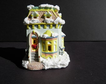 Christmas Village - Victorian Town House