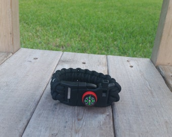 Free Shipping! Survival Paracord Bracelet