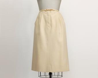 Céline 70's wool skirt