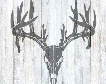 SVG File Deer Antler Skull