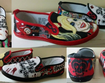 Harley Quinn Shoes: Women's
