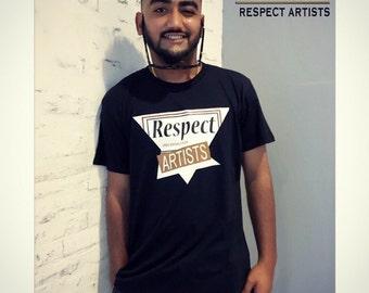 Dreambig@FTD 原創限量版夏天潮男潮女全棉t恤 Respect Artists