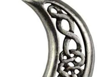 Celtic Moon Celestial Amulet
