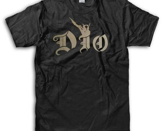 Ronnie James Dio Black T-Shirt - High-Quality! Ready to Ship!