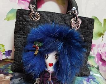 Jess DoraLora Doll Bag Charm