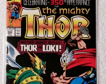 Thor #432, Giant-Size 350th Appearance (1991)