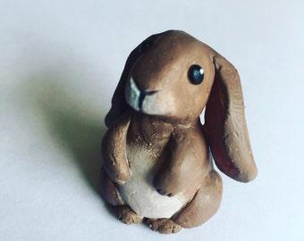 Polymer Clay Bunny Rabbit