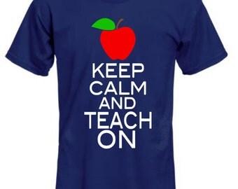 Teach On shirt