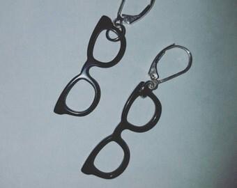 Nerd earrings