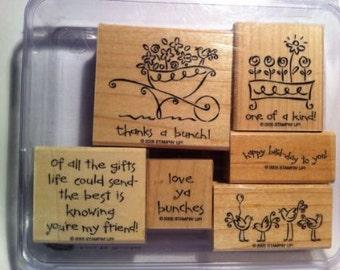 Stampin up Love Ya Bunches Stamps