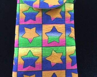 Neon Rainbow Stars
