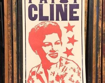 Hatch Show Print Linocut Poster