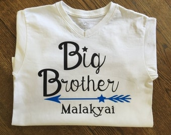Custom Name Shirts, Big Brother Shirt, Big Sister Shirt, Little Brother Shirt, Little Sister Shirt, Family Shirts, Matching Name Shirts