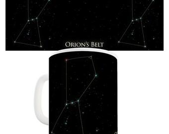 Orion's Belt Astrology Ceramic Mug